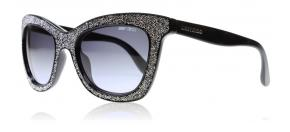 Jimmy Choo - Jimmy Choo Flash Solglasögon svart silver FI8