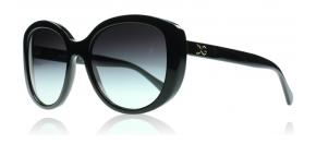 Dolce and Gabbana - Dolce and Gabbana 4248 Solglasögon Glansig Svart 501 8G