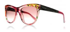 Gucci - Gucci 3739S Solglasögon Clear red green 2F616
