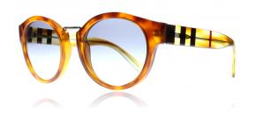 Burberry - Burberry 360579 Orange Tortoise 50 Solglasögon Orange Sköldpaddsmönster 360579 50mm