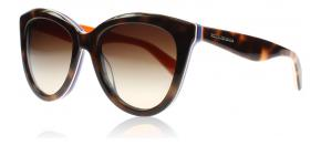 Dolce and Gabbana - Dolce and Gabbana 4207 Multicolour Solglasögon Sköldpaddsmönster Röd Blå och Orange 276513